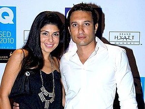 Homi Adajania - With wife Anaita Shroff Adajania at India's 50 Best Dressed Men, 2012