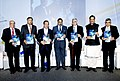 Anand Sharma released the 'NASSCOM KPMG Report on Digital Consumerism' at the inauguration of the NASSCOM India Leadership Forum 2013, in Mumbai on February 13, 2013. The Chief Minister, Shri Prithviraj Chavan is also seen.jpg