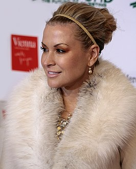 Anastacia tijdens de Women's World Award (2009)