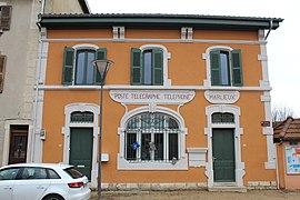 Marlieux wikip dia - Bureau de poste gare de l est ...