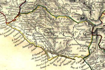Cartina Topografica Del Lazio.Ciociaria Wikipedia