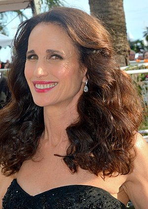 Andie MacDowell - MacDowell at the Cannes Film Festival in May 2017