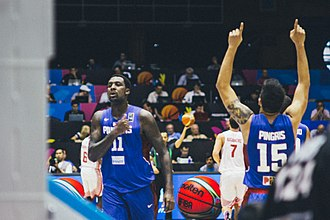 Andray Blatche - Blatche with the Philippine national team at the 2014 FIBA World Cup.