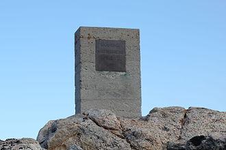 Kvitøya - Andrée, Strindberg and Frænkel Memorial