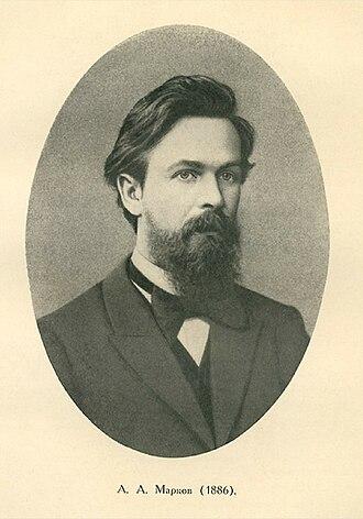 Andrey Markov - Markov in 1886