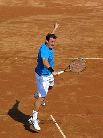 Andrei Pavel - Andrei Pavel in 2009 during his last singles match