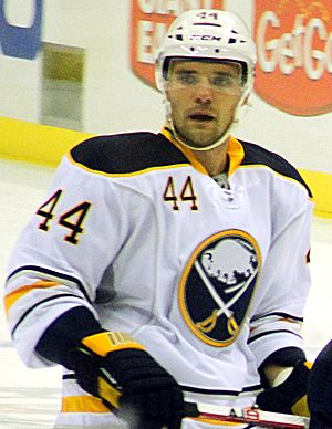 Andrej Sekera - Sekera with the Buffalo Sabres in 2011.