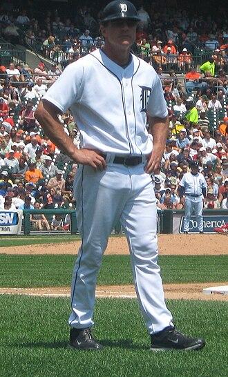 Andy Van Slyke - Van Slyke with Detroit