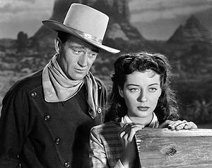 Angel and the Badman - John Wayne and Gail Russell
