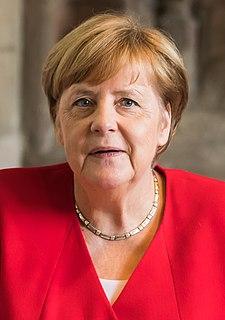 Angela Merkel Chancellor of Germany