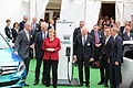 Angela Merkel with Electromobility Managers.JPG