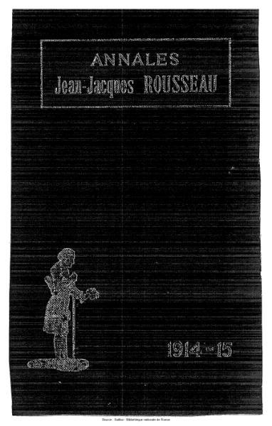 File:Annales de la société Jean-Jacques Rousseau, tome 10.djvu