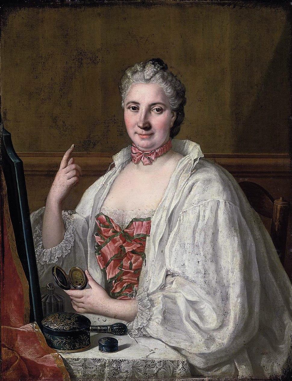 Anne de La Grange-Trianon by Circle of François-Hubert Drouais