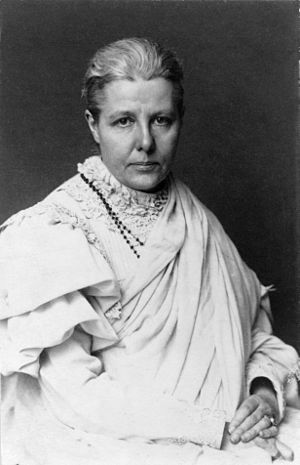 Gertrude Guillaume-Schack - Annie Besant, socialist and theosophist