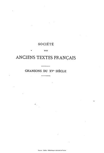 File:Anonyme - Chansons françaises du XVe siècle.djvu