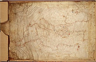 Abraham Cresques - Image: Anonymous Catalan chart (Venice)