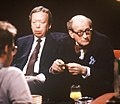 "Anthony Howard and Lord Lambton appearing on ""After Dark"", 2 February 1991.jpg"