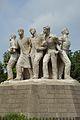 Anti Terrorism Raju Memorial - 1997 CE - Sculpture by Shaymal Chowdhury - University of Dhaka Campus - Dhaka 2015-05-31 1953.JPG