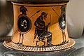 Antimenes Painter - ABV extra - youth leading horse - seated man between two hoplites - Milano MA A 0-9-8053 - 02.jpg