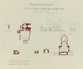 Antiquities of Samarkand. Mausoleum of Emir Timur Kuragan (Gur-Emir). Plans, Elevations, and Sections WDL3575.png