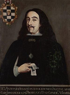 Antonio Sebastián de Toledo, 2nd Marquis of Mancera - Image: Antonio Sebastiande Toledo