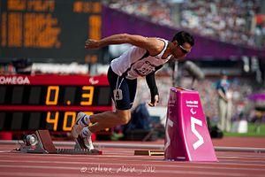 Antonis Aresti - Aresti at the 2012 Summer Paralympics