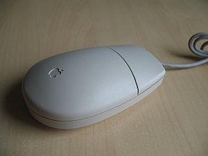 Apple ADB mouse.