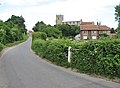 Approaching Wiveton from the east - geograph.org.uk - 841540.jpg