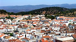 Skyline of Aracena
