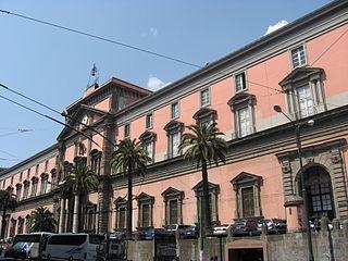 Museo Archeologico di Napoli Facciata