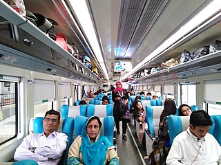 argo executive and the only argo executive-commercial economy (plus/premium) mix class train in Indonesia