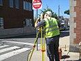 Arlington, MassAve Surveying, June 2014 (14150615937).jpg