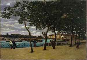 Armand Guillaumin - View of the Seine, Paris, 1871