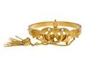 Armband av guld med pärlor, 1840-tal - Hallwylska museet - 110141.tif