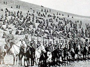 Georgian–Armenian War - Armenian troops in 1918