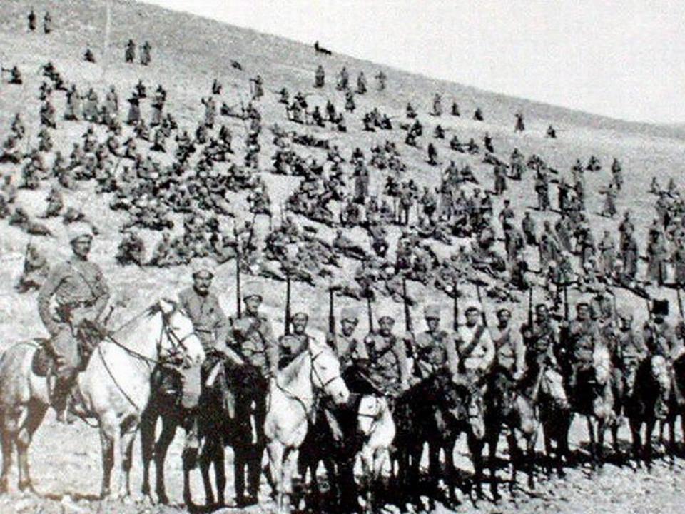 Armenian soldiers 1918