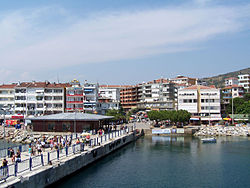 Ferry port of Armutlu