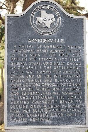 Arneckeville, Texas