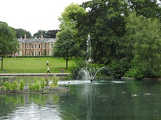 Arnold, Nottinghamshire - Arnot Hill House and grounds