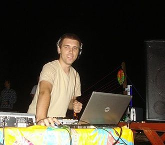 Psychedelic trance - Arronax performing at The Gathering, a psychedelic trance festival, in 2009