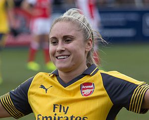 Steph Houghton - Houghton in 2017