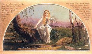 Honey's Dead - Image: Arthur Hughes Ophelia (First Version)