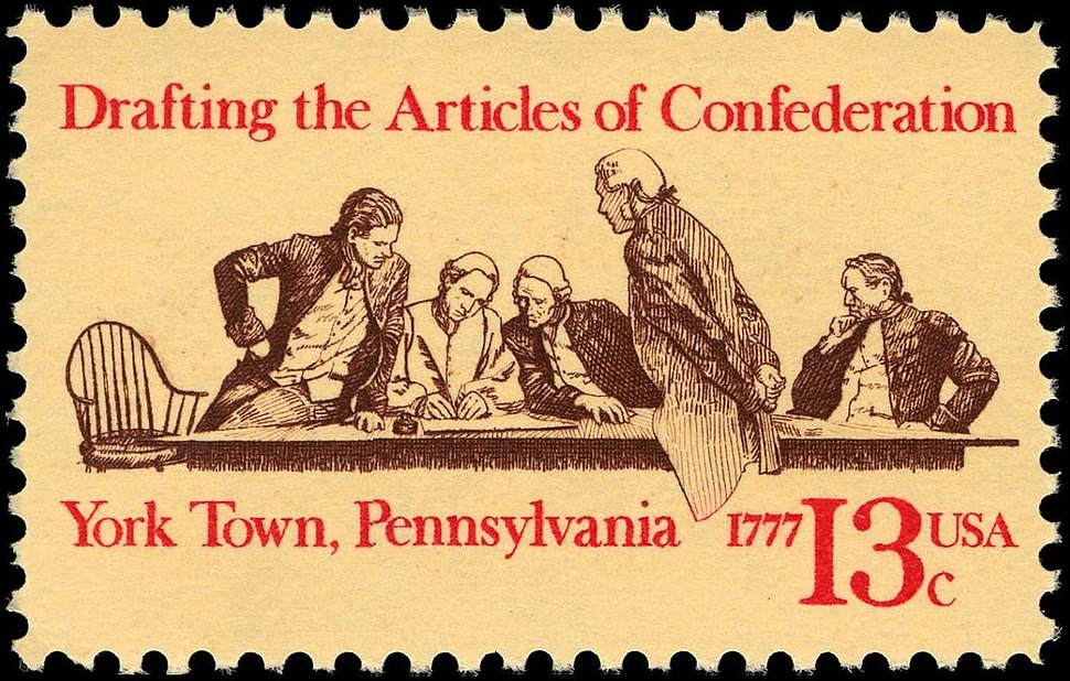 Articles of Confederation 13c 1977 issue