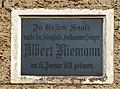 Arxlae - Albert Niemann - Geboortshuus Schild.jpg