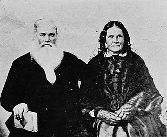 Asa and Lucy Goodale Thurston - From a daguerreotype circa 1864