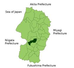 朝日町 (山形县) - 维基百科,自由的百科全书