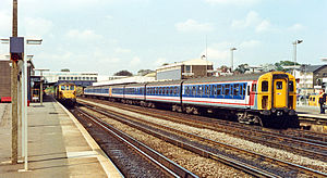Ashford International railway station - Ashford station before rebuilding by British Rail