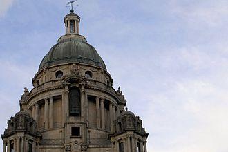 Ashton Memorial - Image: Ashton Memorial top, Lancaster