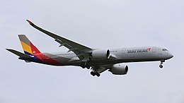 Asiana Airlines, Airbus A350-941, HL8078.jpg