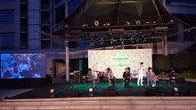 파일:At the Remind Green Concert, Song Ha-jin, Yu Hye-suk, Kim A-lang, and Lee Jae-Sung are environment debating.webm